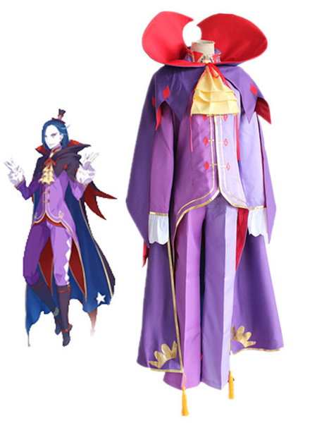 Milanoo Re Zero Starting Life In Another World Roswaal L Mathers Halloween Cosplay Costume Halloween