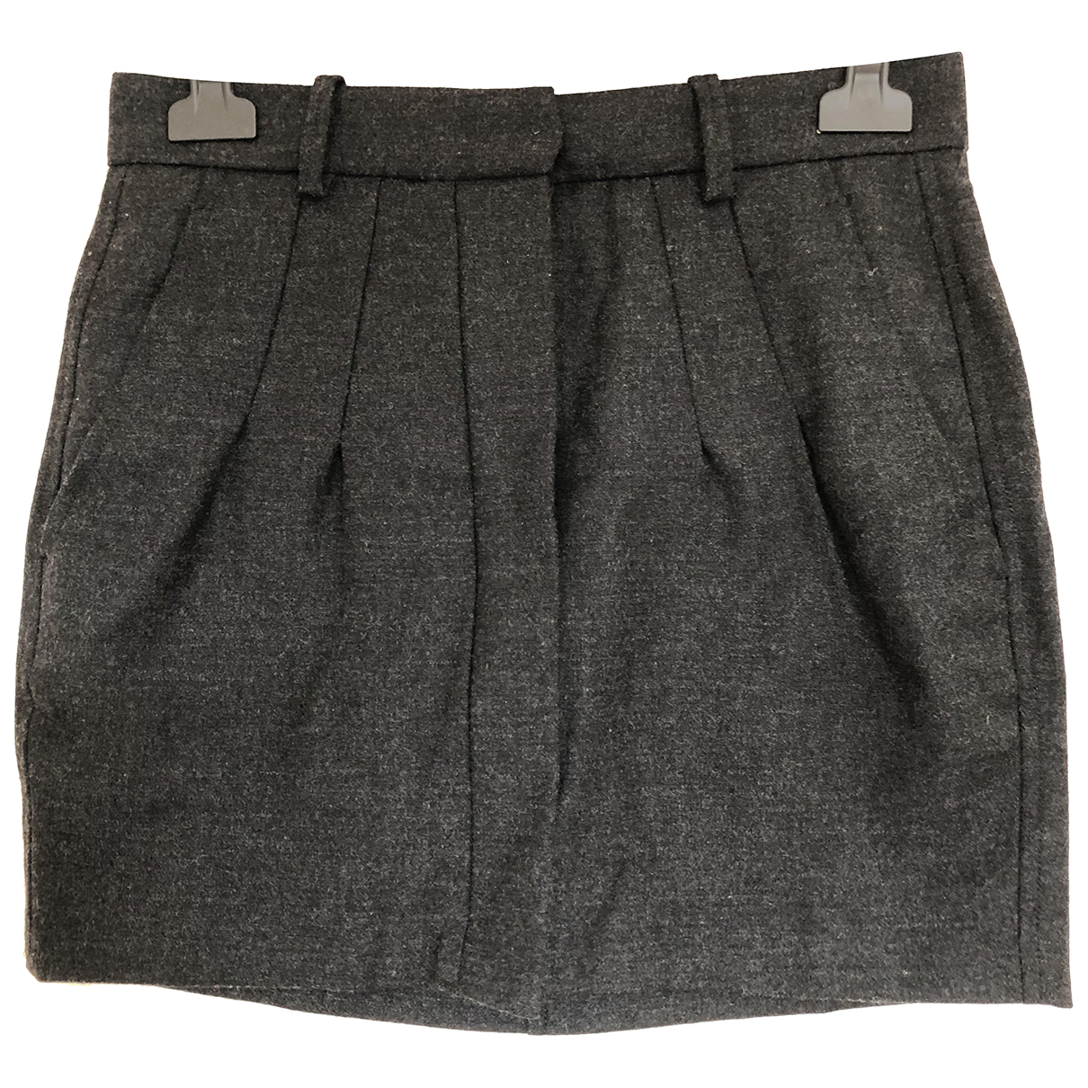 Isabel Marant Etoile - Jupe   pour femme en laine - gris