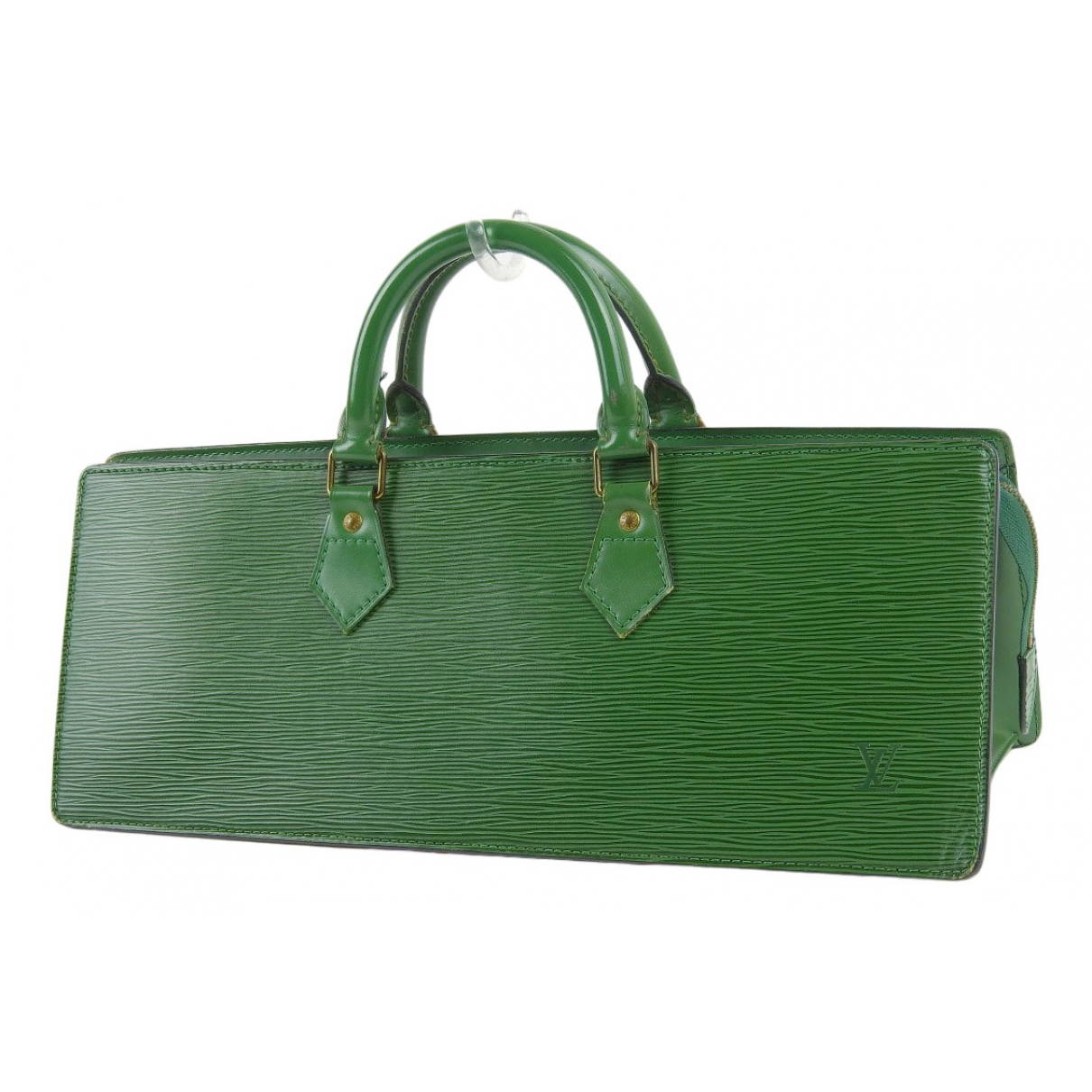 Louis Vuitton Triangle Green Leather handbag for Women \N