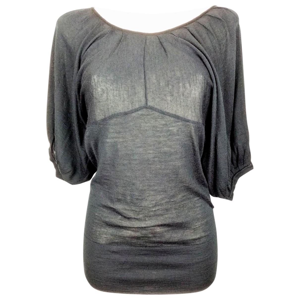 Chloé \N Black Wool  top for Women 36 FR
