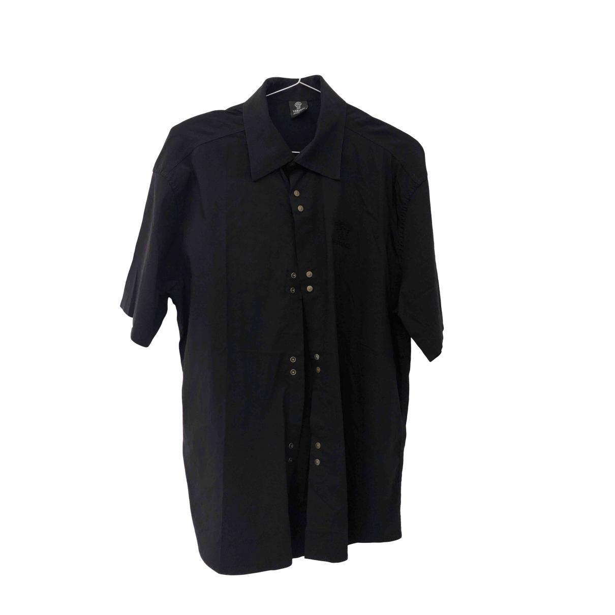 Versace Jean - Top   pour femme en coton - noir