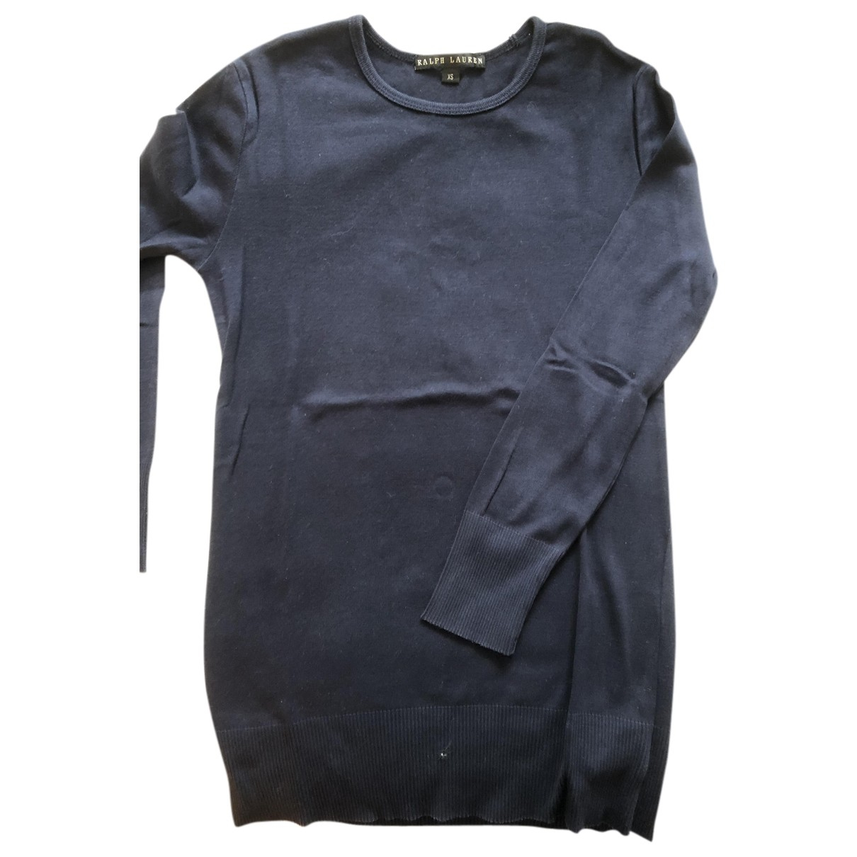 Polo Ralph Lauren N Navy Cotton Knitwear for Women XS International