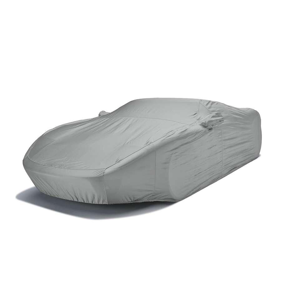 Covercraft FS17598F4 Fleeced Satin Custom Car Cover Gray Fiat 500 2013-2019