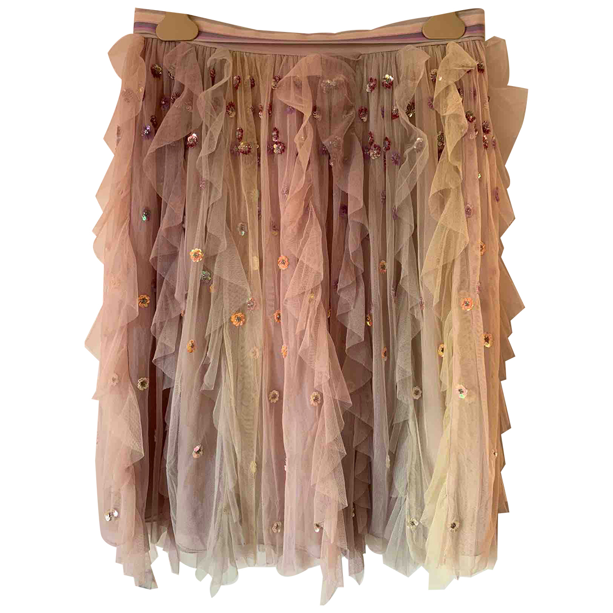 Needle & Thread \N Rocke in  Rosa Polyester