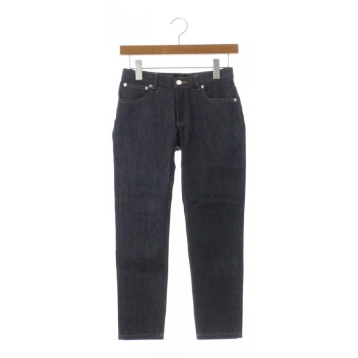 Apc \N Blue Denim - Jeans Jeans for Women 24 US