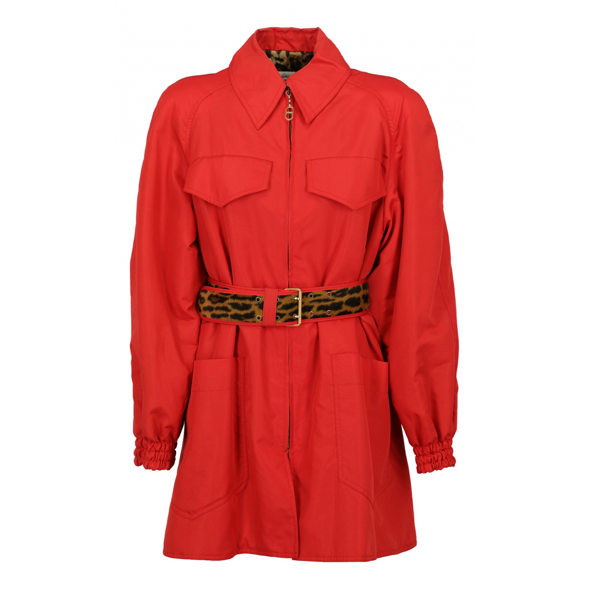 Dior \N Trench in  Rot Synthetik