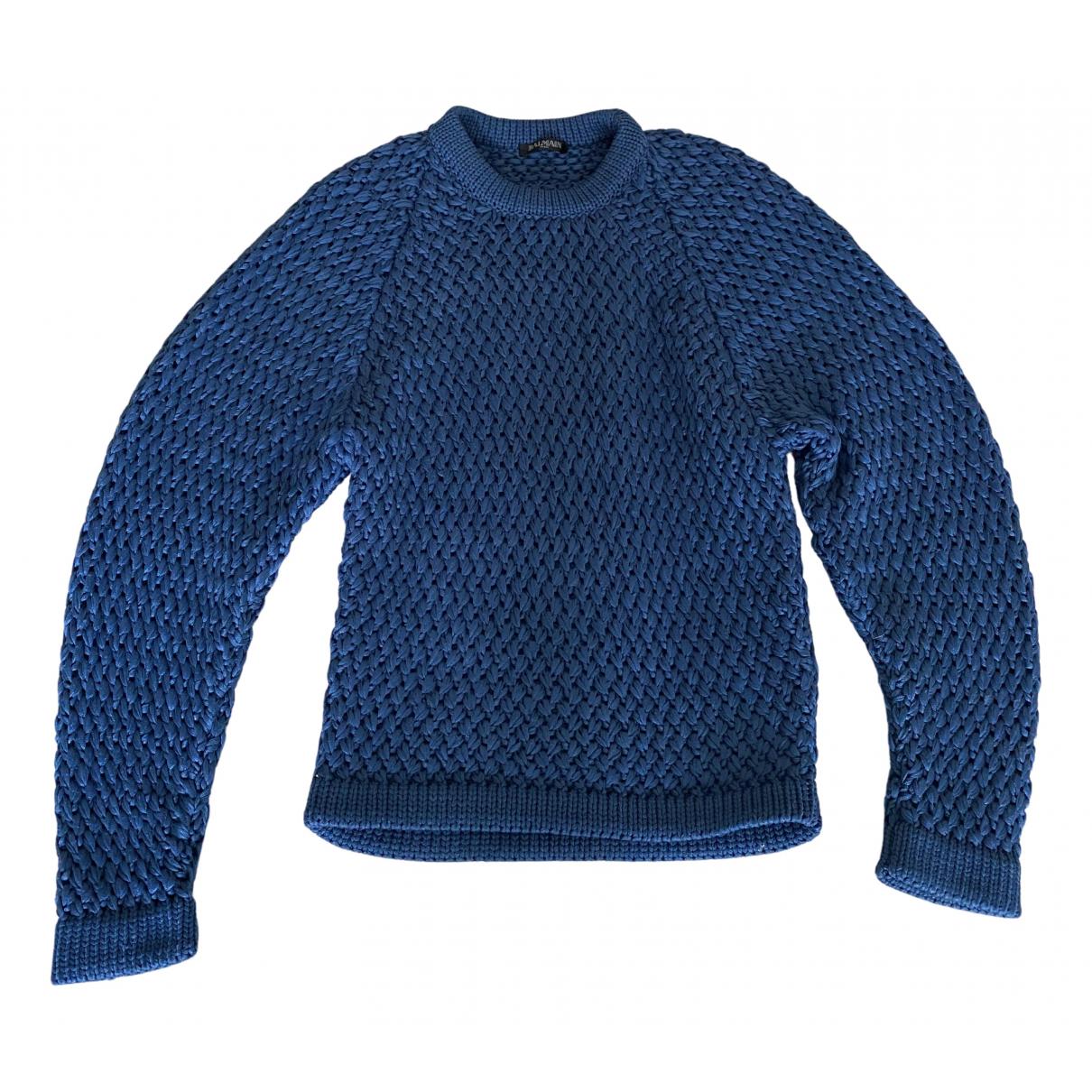 Balmain N Blue Knitwear for Women 38 IT
