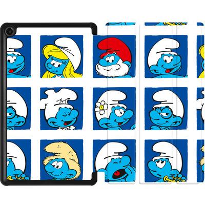 Amazon Fire 7 (2017) Tablet Smart Case - Smurf Squares von The Smurfs