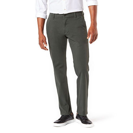 Dockers Men's Ultimate Chino Straight With Smart 360 Flex, 36 30, Black