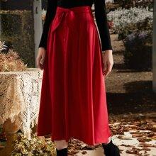 Faldas Lazo delantero Liso Elegante