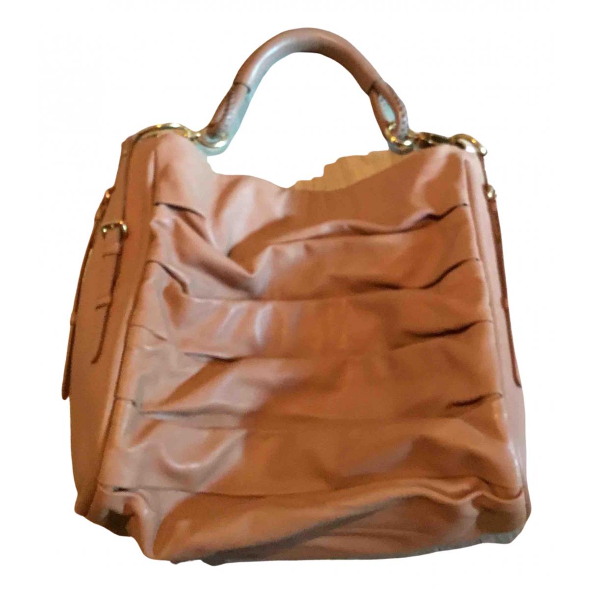 Dior \N Handtasche in  Kamel Leder