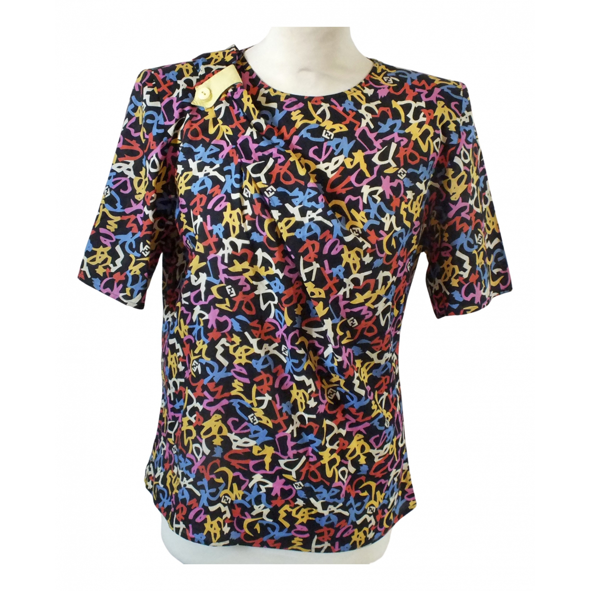 Fendi - Top   pour femme - multicolore