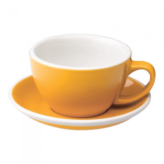 Café Latte cup with a saucer Loveramics