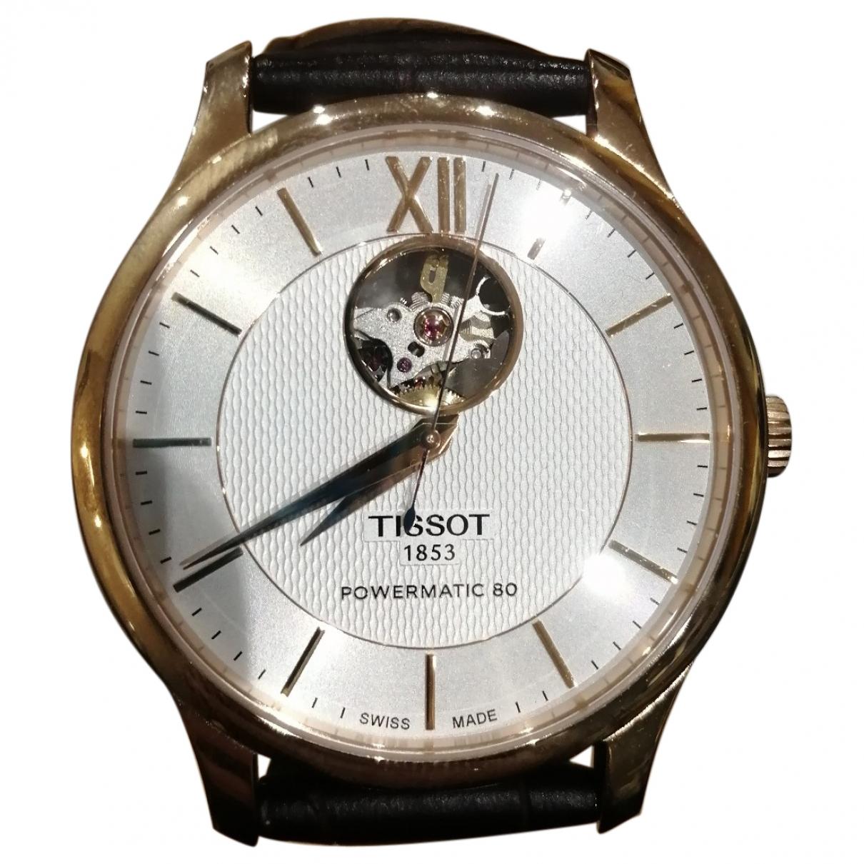 Tissot \N Brown Steel watch for Men \N