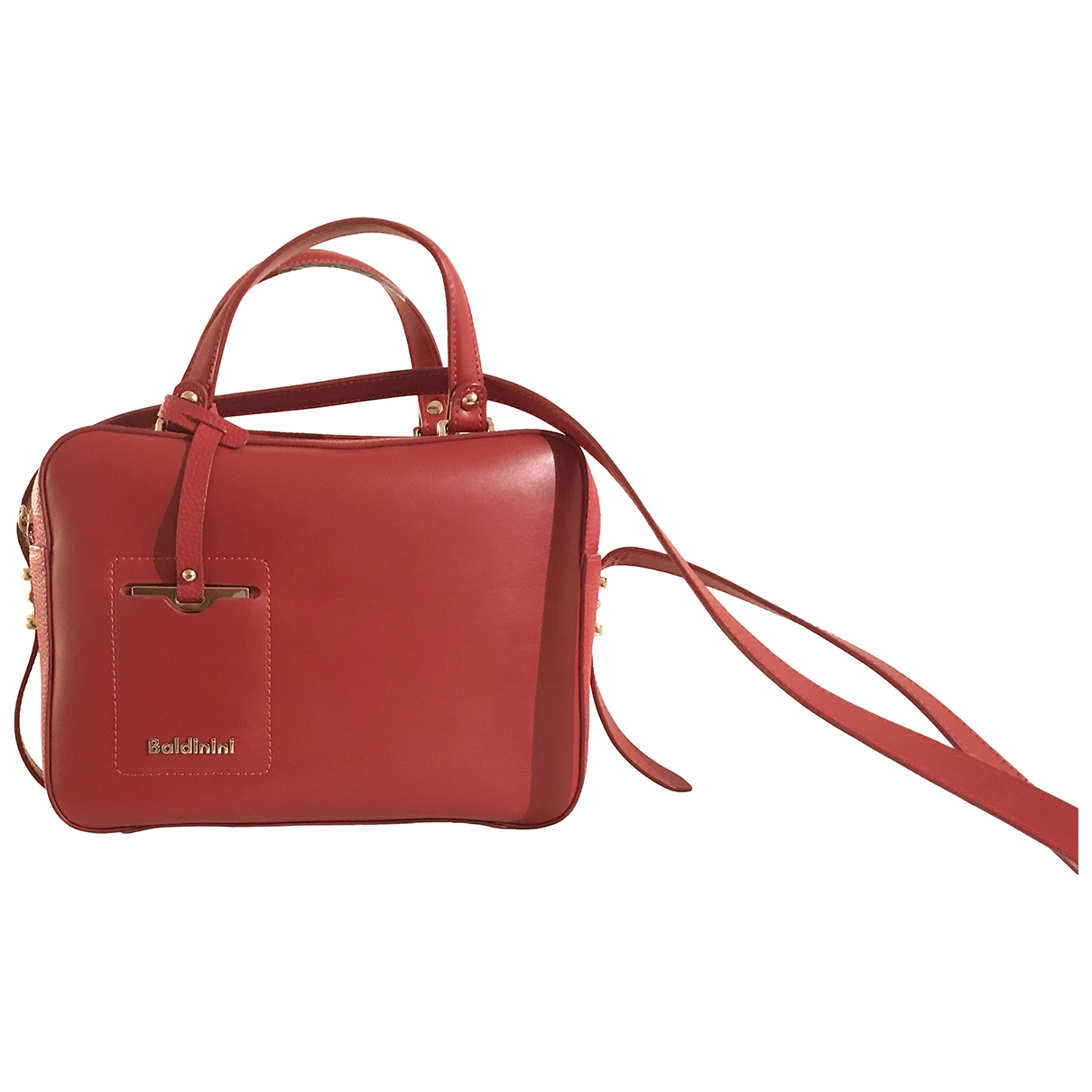 Baldinini \N Burgundy Leather handbag for Women \N