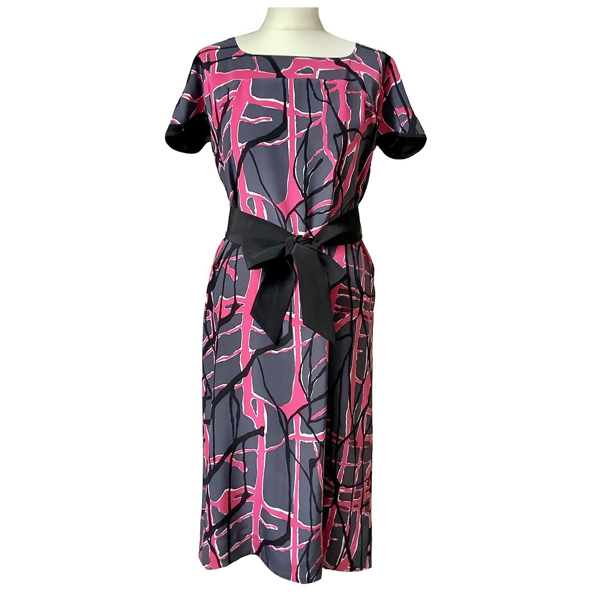 Jaeger \N Kleid in  Rosa Seide