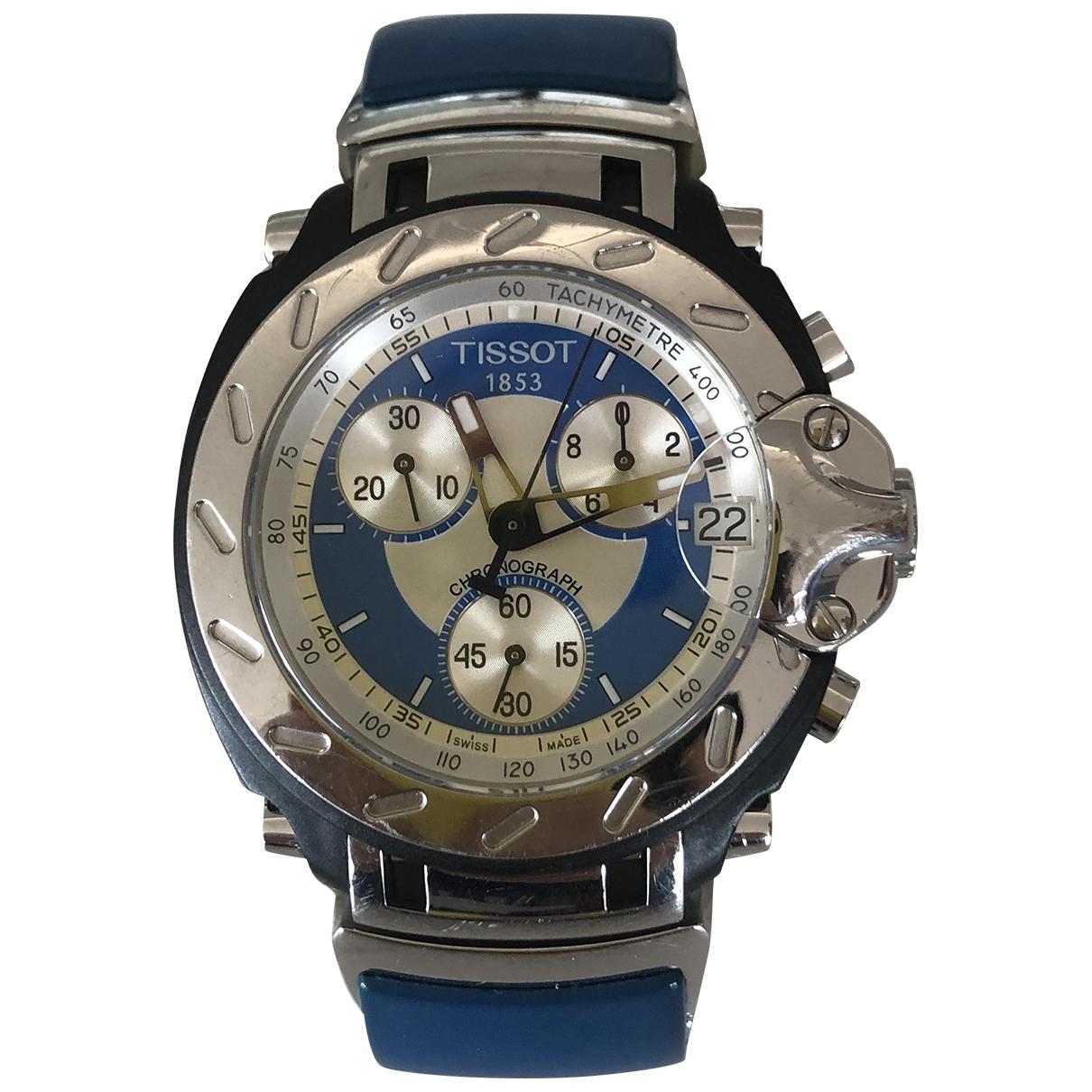 Tissot \N Uhr in  Blau Stahl