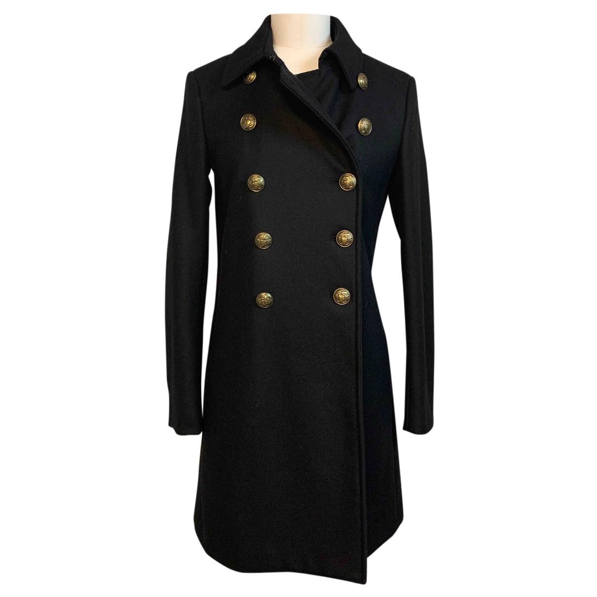 Dondup - Manteau   pour femme en laine - noir