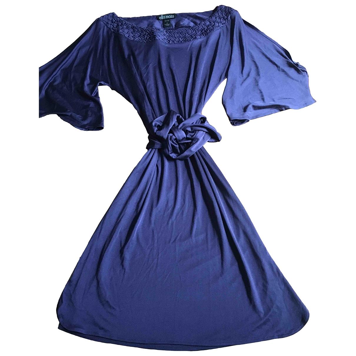 Ella Moss \N Purple Silk dress for Women M International