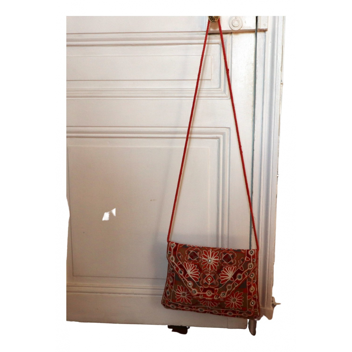 Antik Batik N Red Cloth handbag for Women N