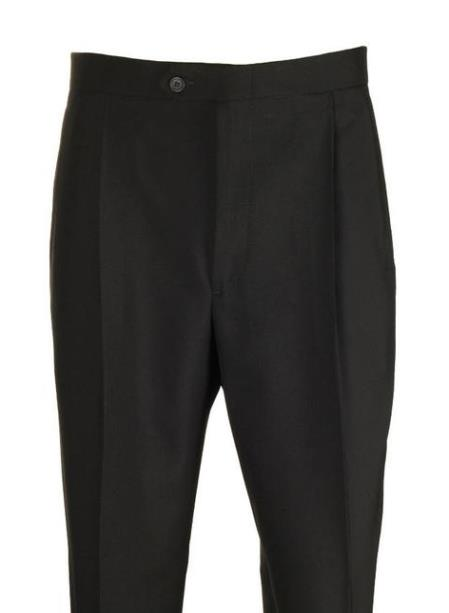 Clothing Black Pleated 1 Wool Dress Pants Manufacturers In America
