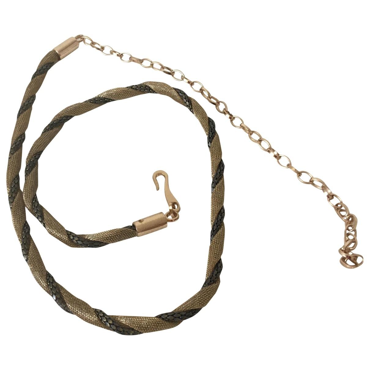 Zara \N Guertel in  Metallic Ketten