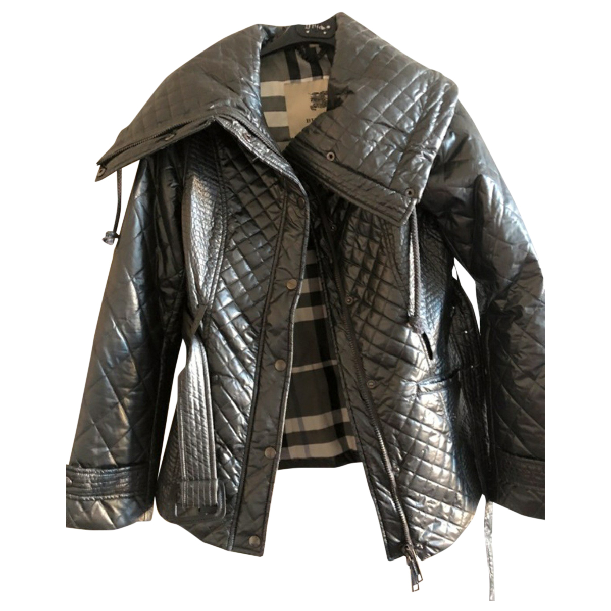 Burberry N Grey jacket for Women 12 UK