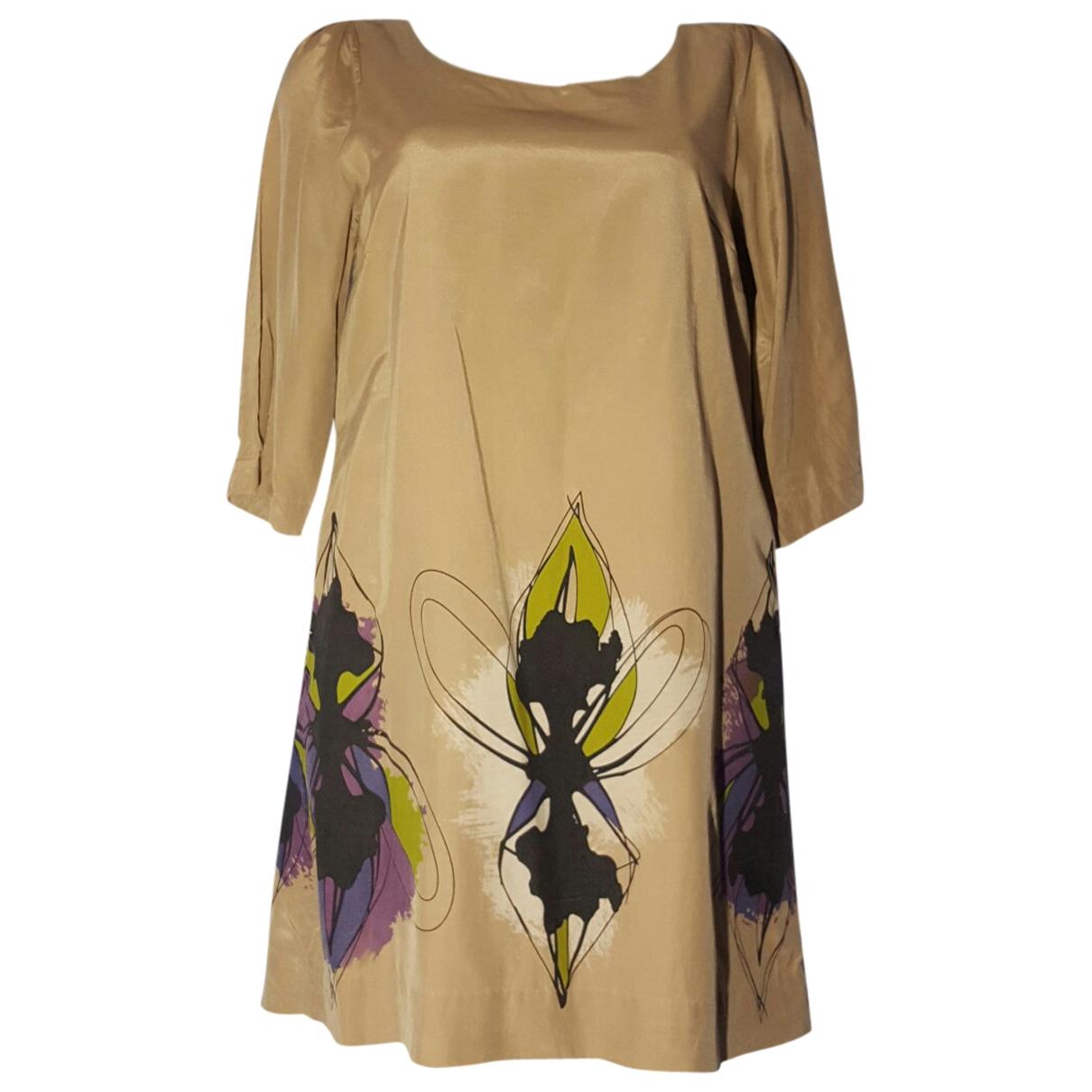 Designers Remix - Robe   pour femme en soie - multicolore