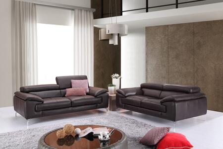A973 Collection 179061111SL 2-Piece Living Room Set with Stationary Sofa  and Loveseat in