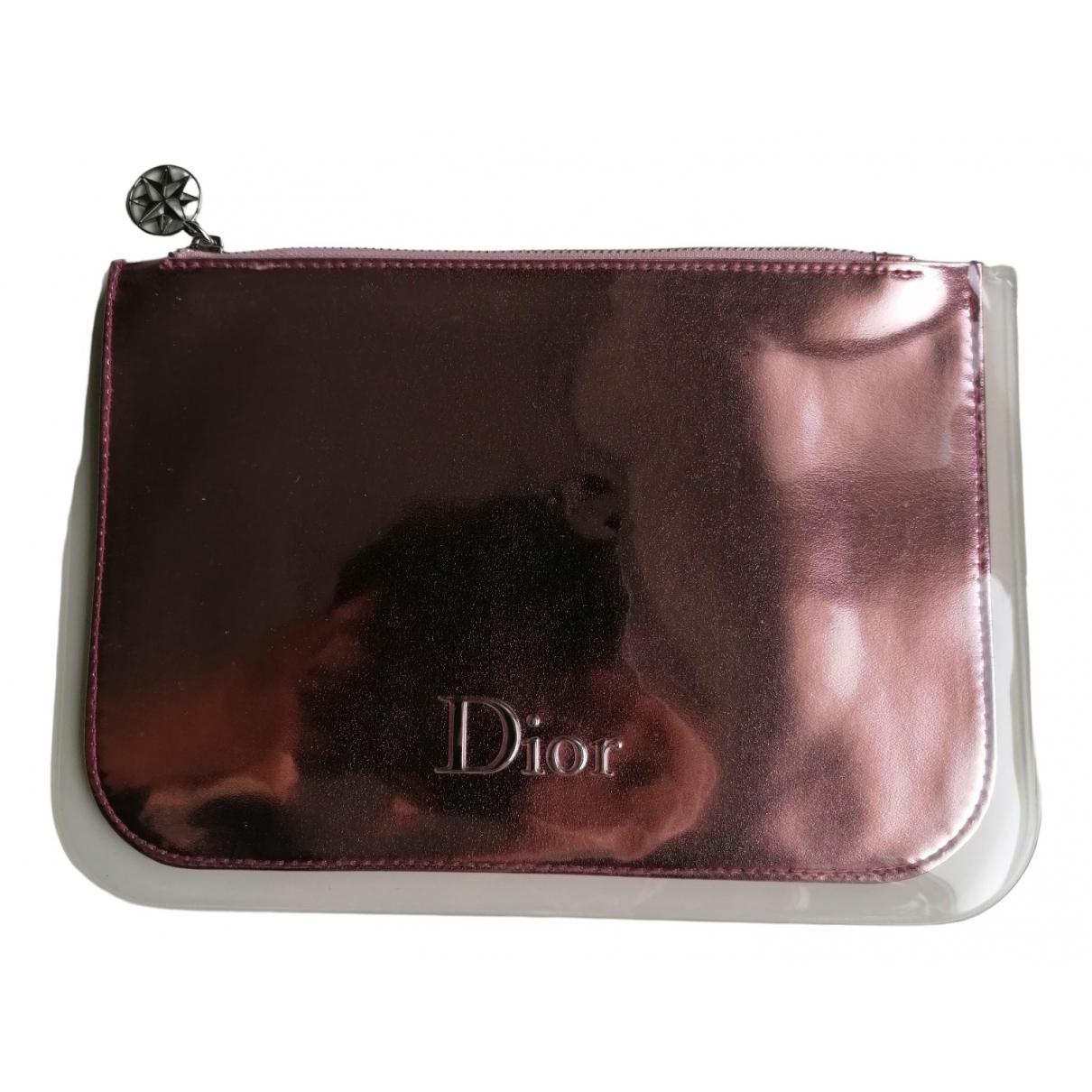 Dior \N Reisetasche in  Rosa Synthetik