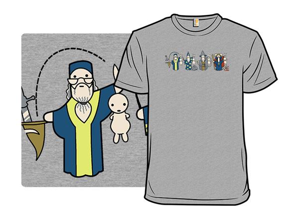 Wizard Magic Party Remix T Shirt