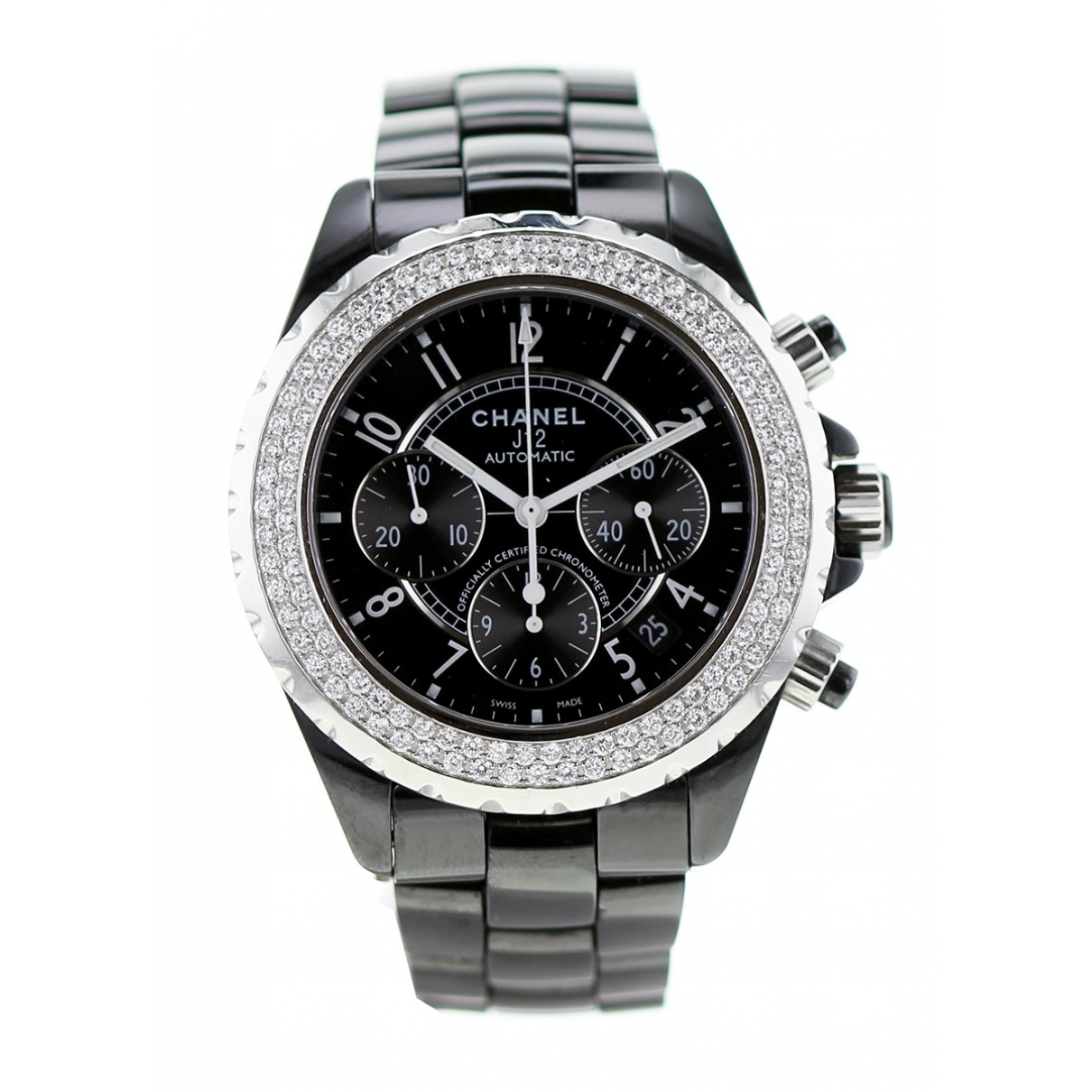 Chanel J12 Automatique Khaki Ceramic watch for Women \N