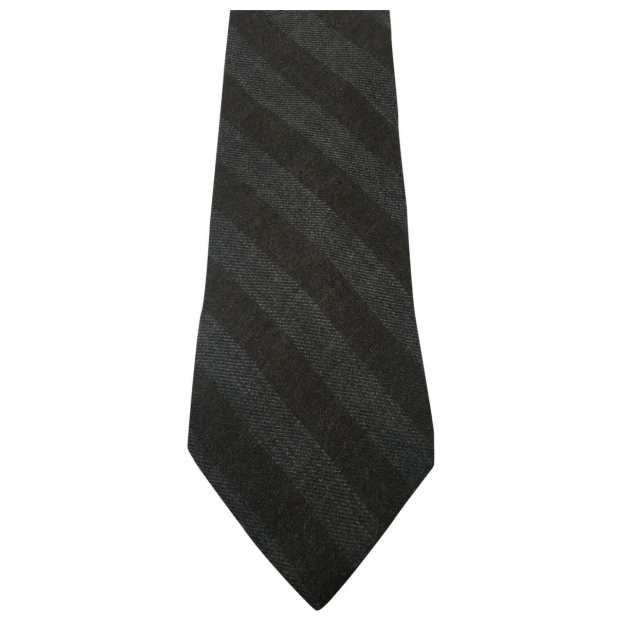 Valentino Garavani \N Krawatten in  Grau Wolle