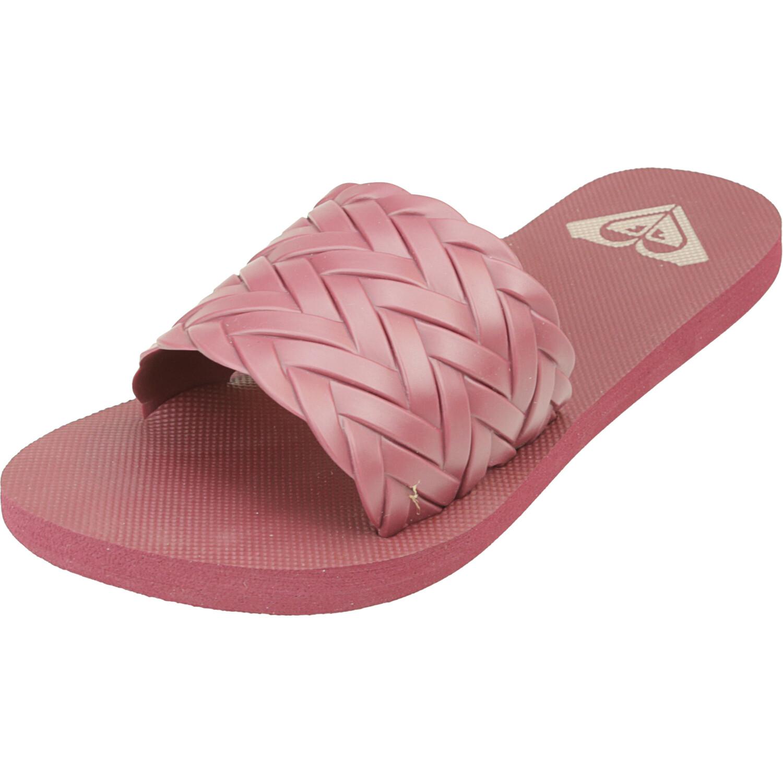 Roxy Women's Kirbi Dark Red Sandal - 5M
