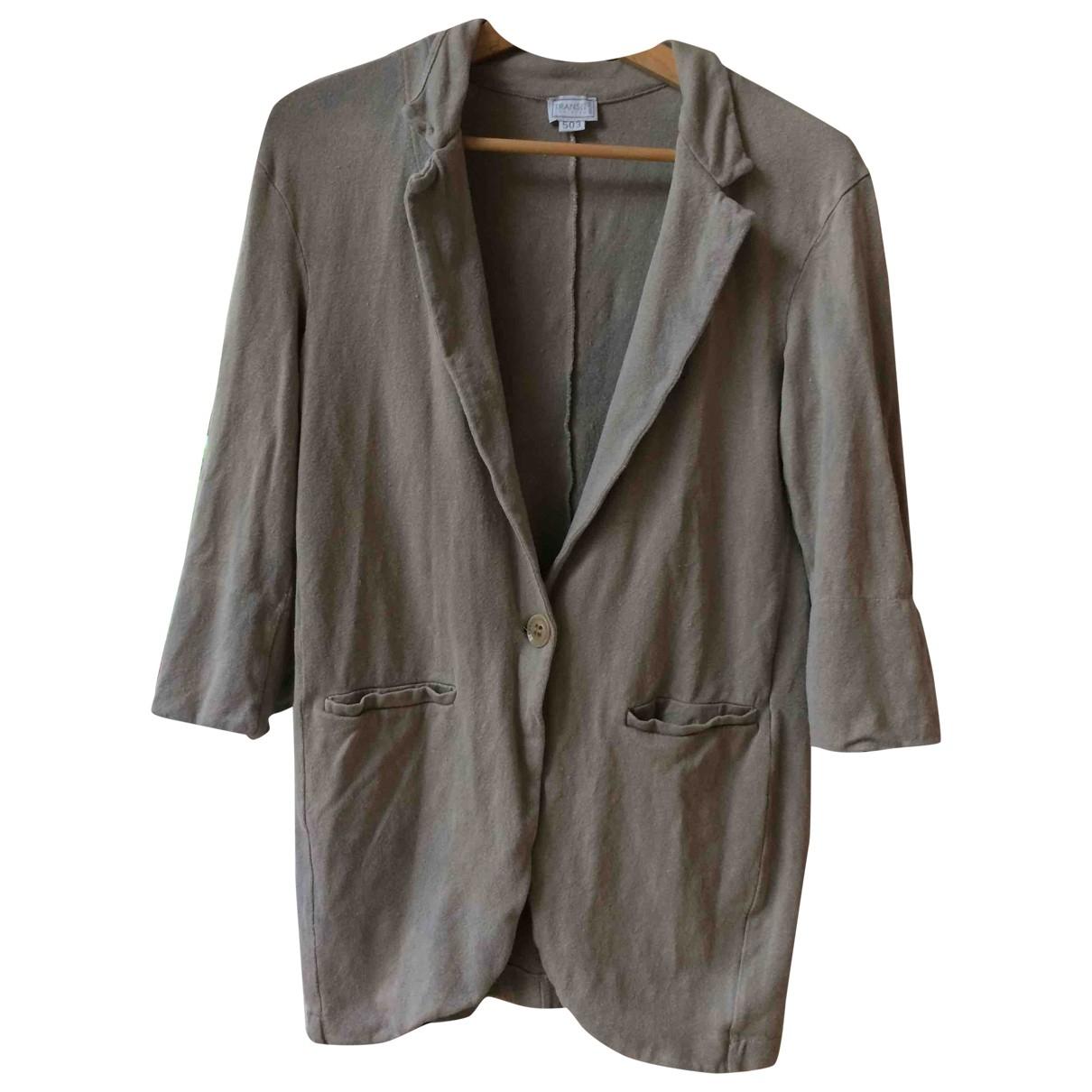 Non Signé / Unsigned \N Beige Linen jacket for Women S International