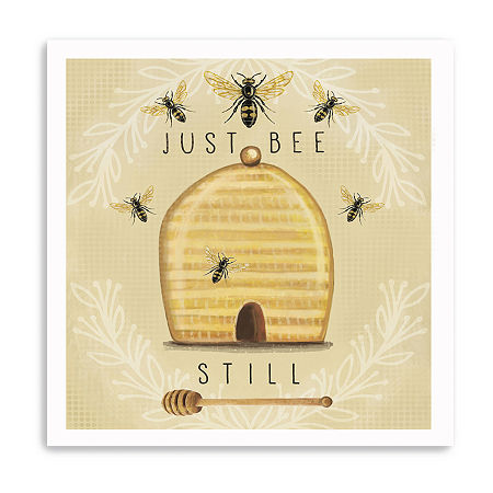 Just Bee Still Giclee Canvas Art, One Size , Brown