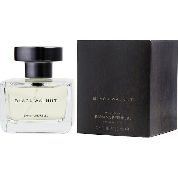 Banana Republic - Black Walnut : Eau de Toilette Spray 3.4 Oz / 100 ml