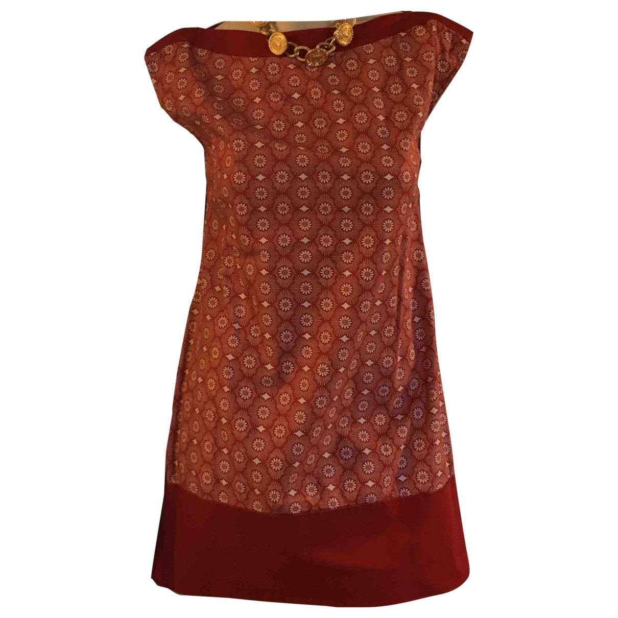 Patrizia Pepe - Robe   pour femme en coton - rouge