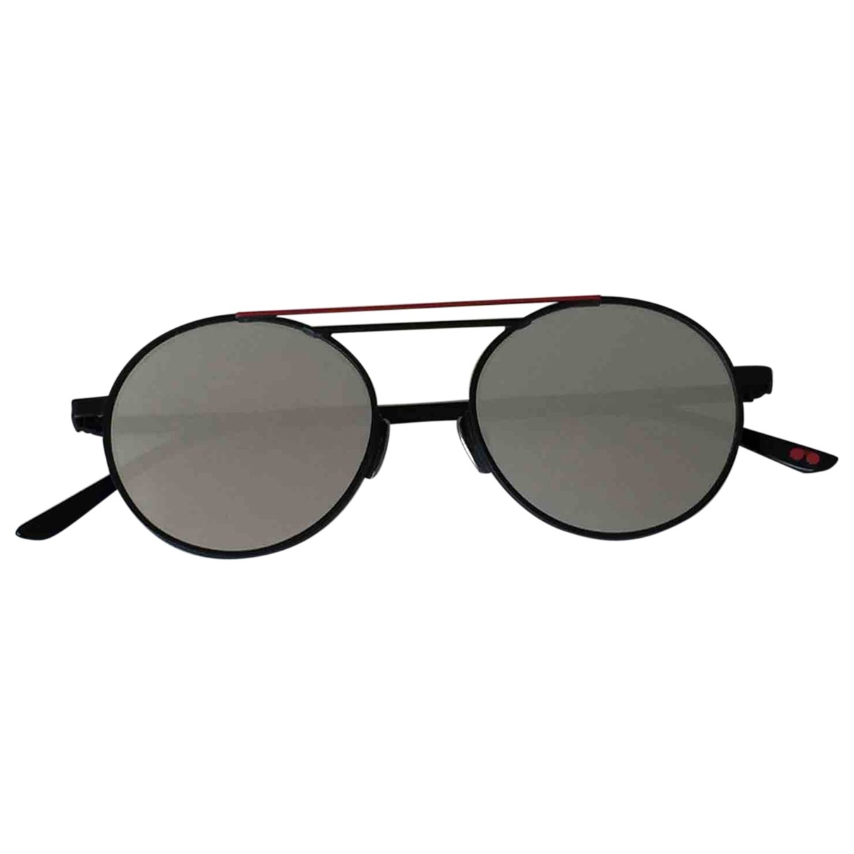 La Petite Lunette Rouge \N Black Metal Sunglasses for Women \N