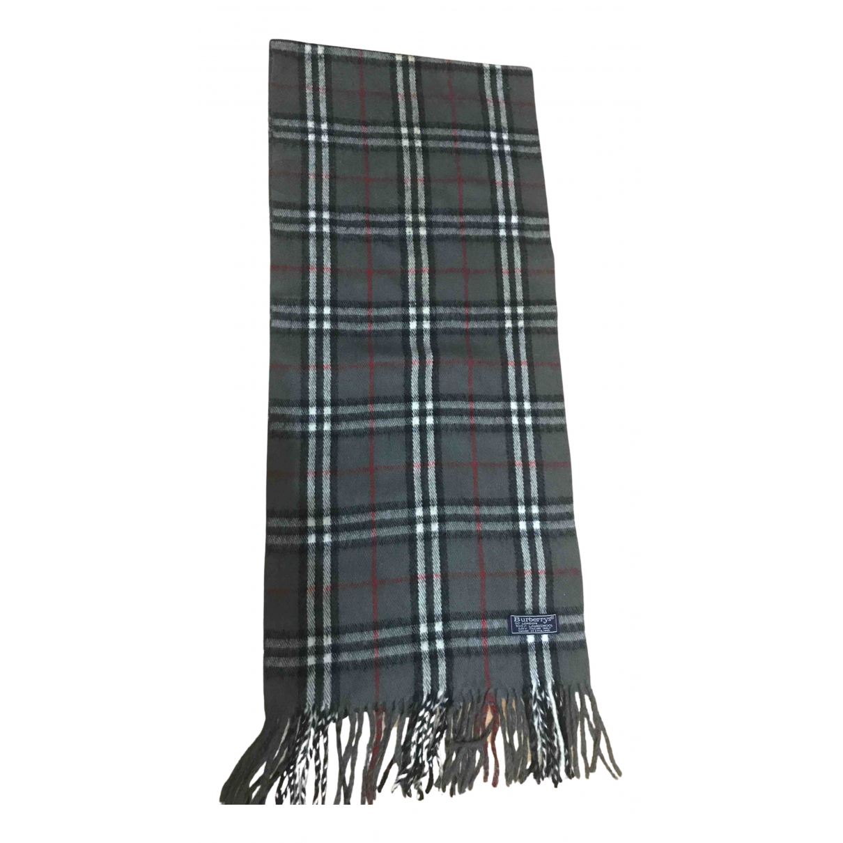 Burberry N Anthracite Wool scarf for Women N