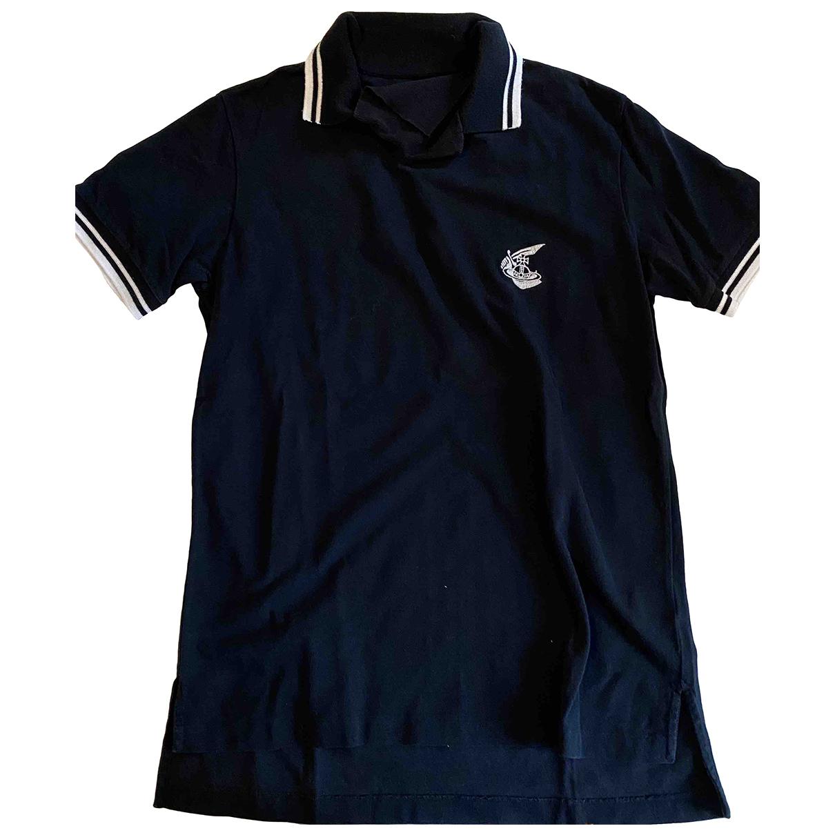 Vivienne Westwood - Polos   pour homme en coton - noir