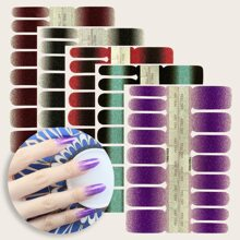 5sheets Ombre Nail Sticker