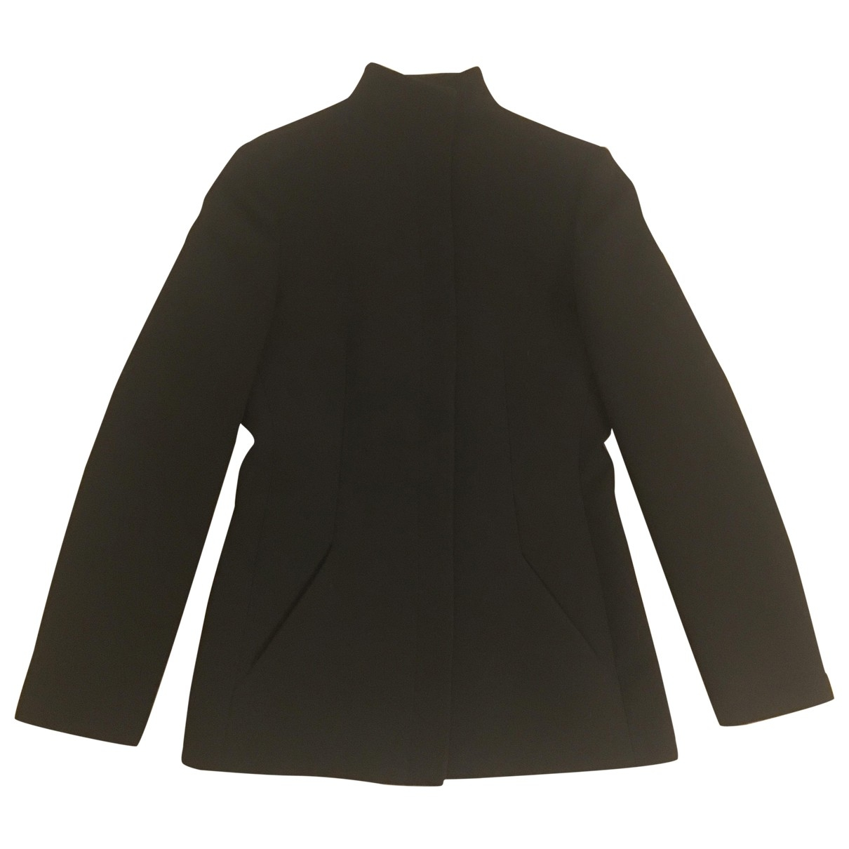 Emporio Armani \N Jacke in  Schwarz Polyester