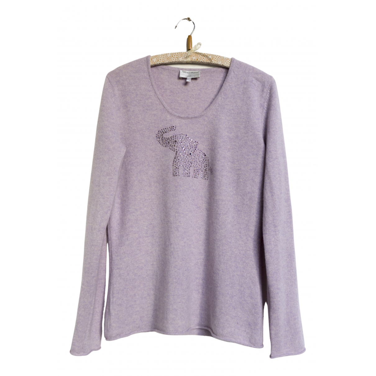 Non Signé / Unsigned N Pink Cashmere Knitwear for Women 42 FR