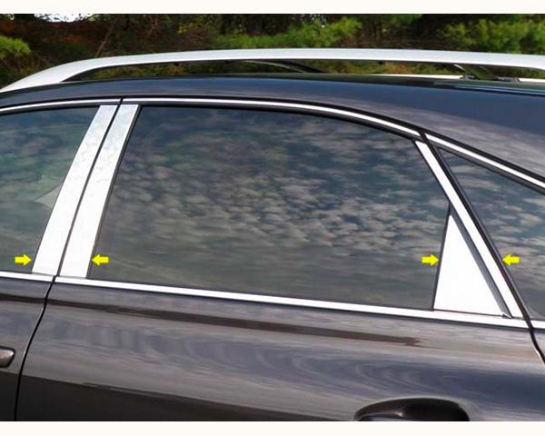 Quality Automotive Accessories 8-Piece Pillar Post Trim Kit Lexus RX Series 2014