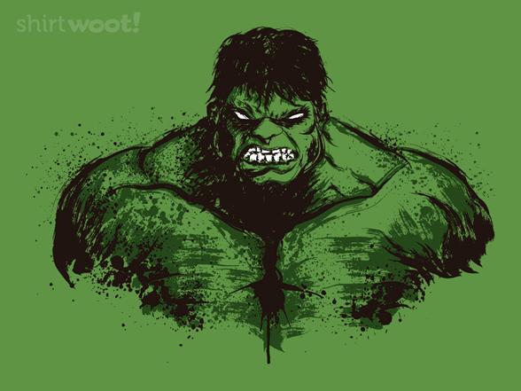 The Green Fury T Shirt