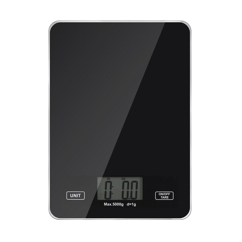 DIGOO DG-TGK1 Digital Kitchen Toughened Glass Scale 1g/5kg Food Scale Ultra Slim Tempered Glass LCD Display Kitchen Baki