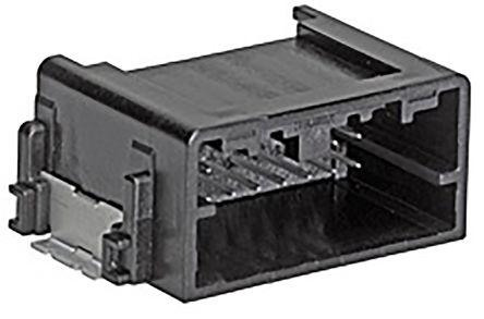 Molex , Mini50 Automotive Connector Plug 2 Row 12 Way, SMT Termination, Black (250)