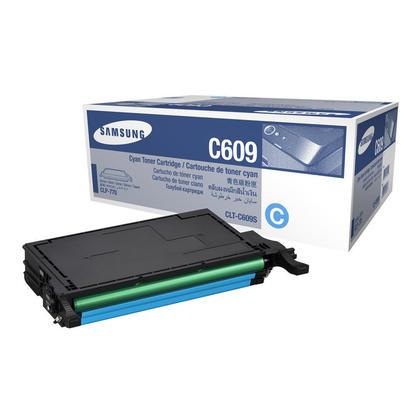 Samsung CLT-C609S Original Cyan Toner Cartridge