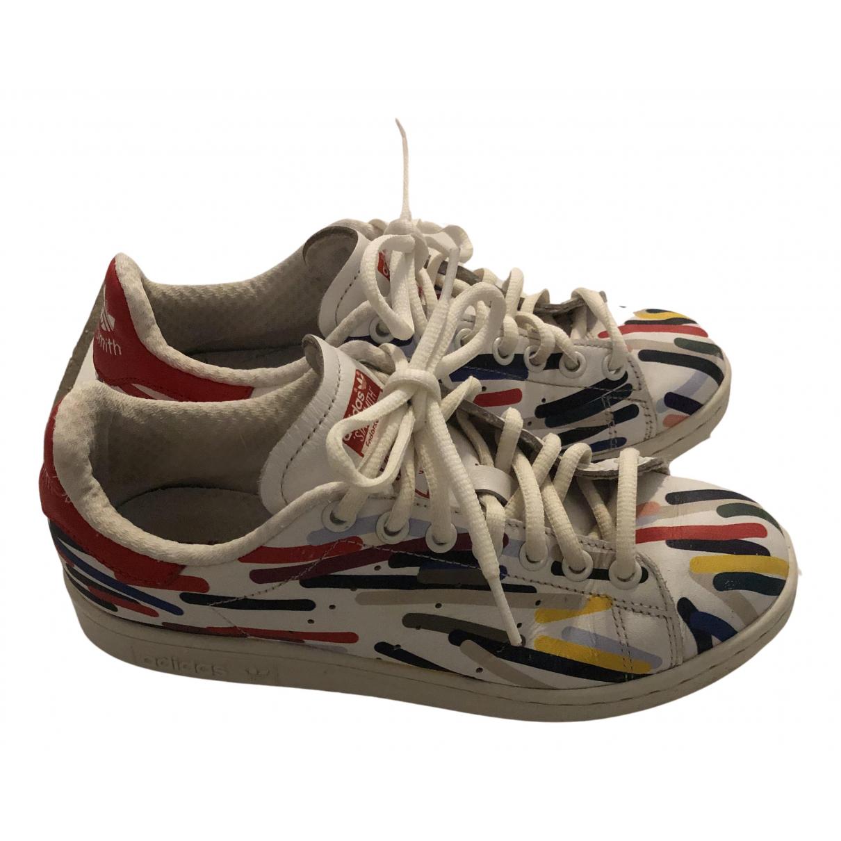 Adidas Stan Smith Sneakers in  Bunt Leder